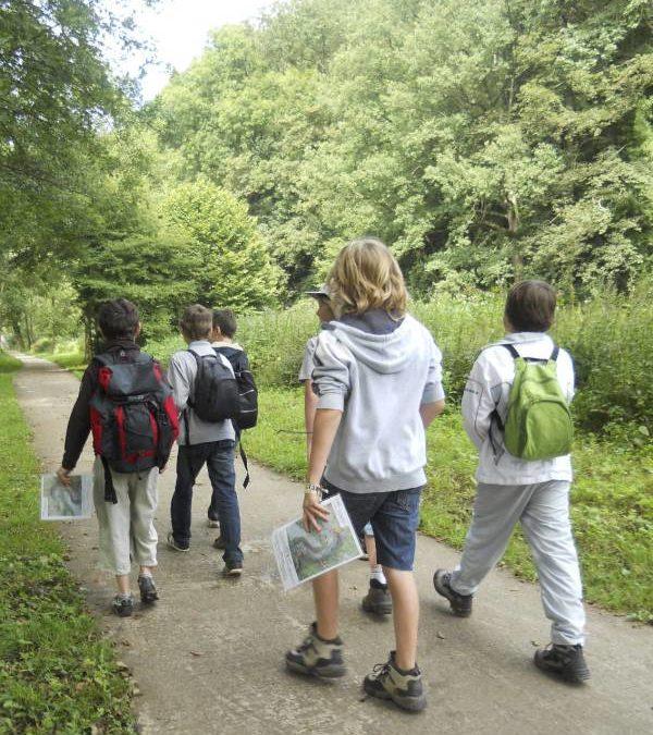 Découvrir, bouger et s'évader en pleine nature Le Domaine organise des stages tout l'été!