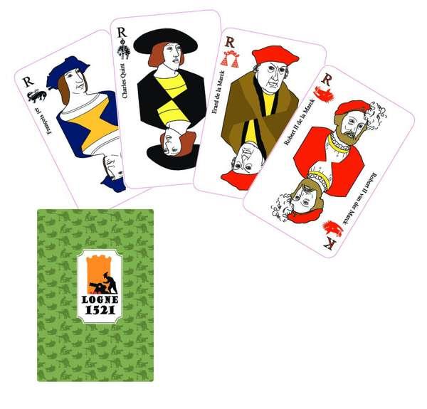 Jeu de cartes 1521-2021